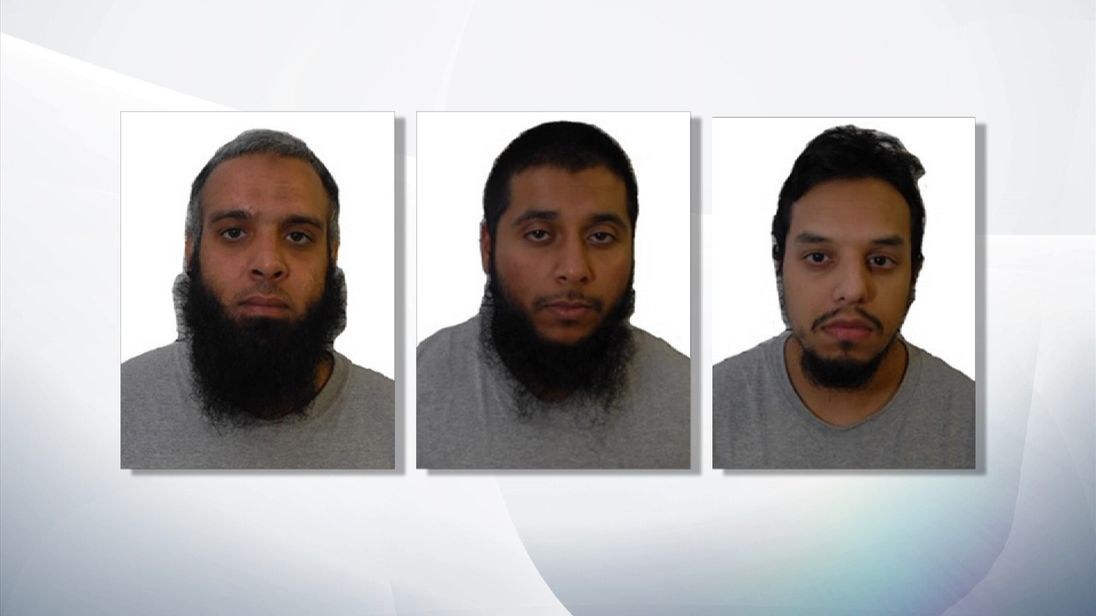 'Three Musketeers' guilty of terror plot