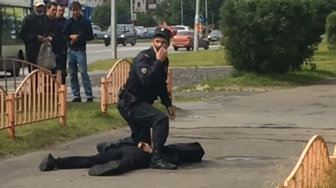 Russian Knife Attacker Injures Eight People
