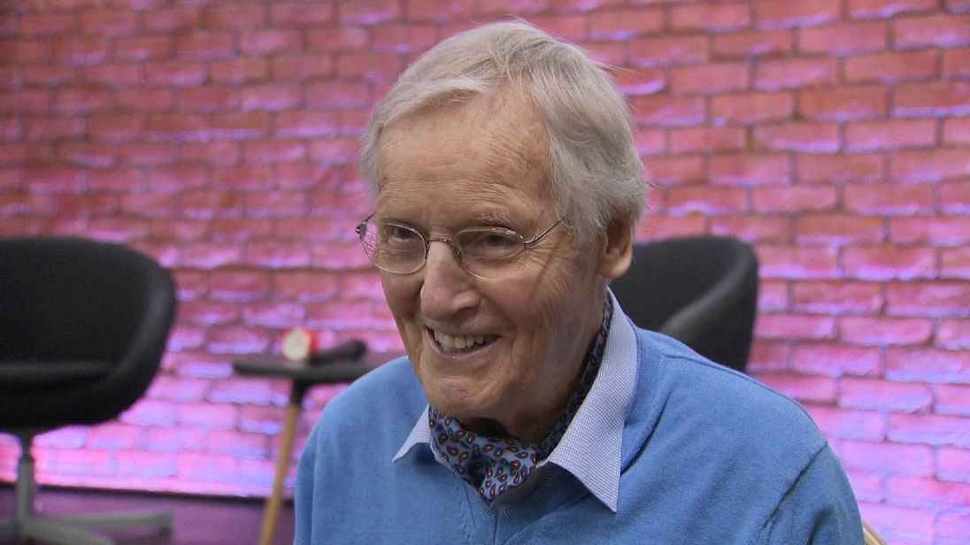 Nicholas Parsons speaks to Sky's Katie Spencer