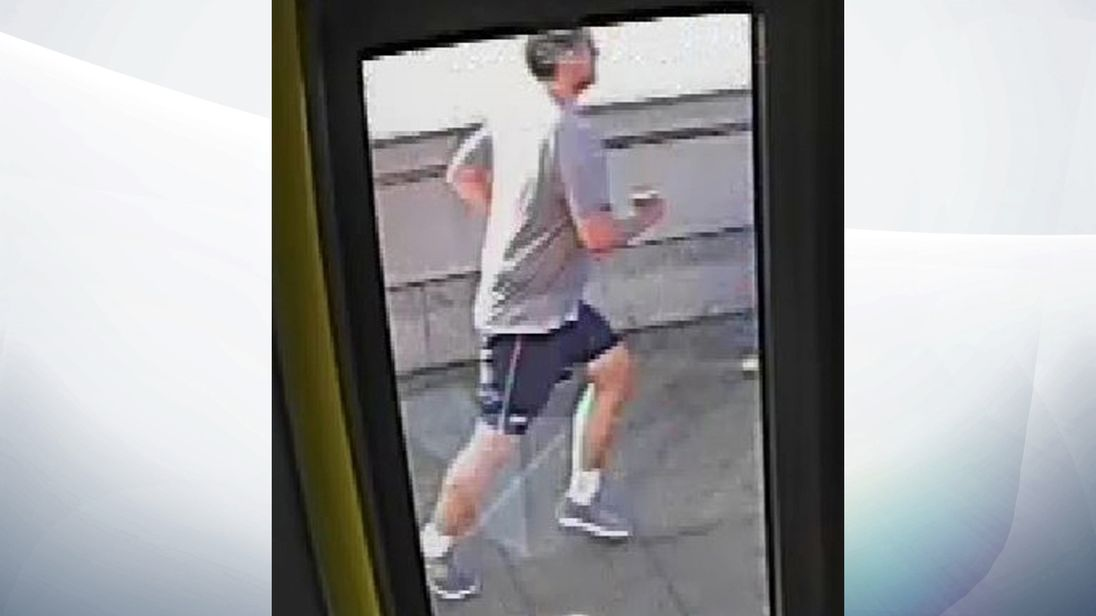 Police want anyone who recognises this jogger to get in touch