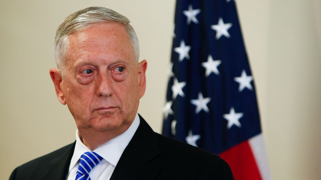 Mattis warns North Korea against risking 'destruction of its people'