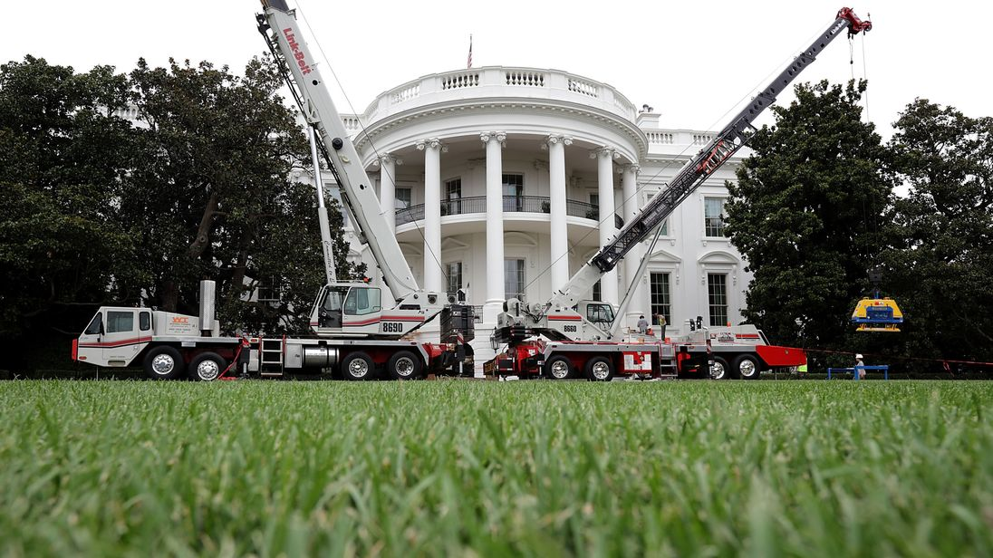 White House's West Wing getting a makeover