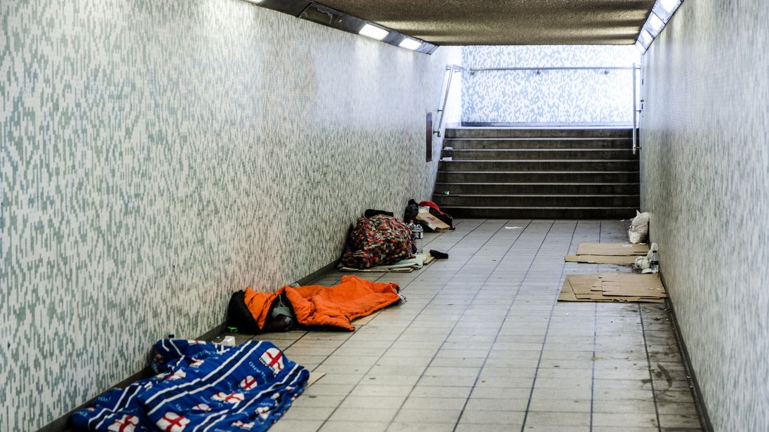 Number of rough sleepers in Scotland 'to double in 25 years'