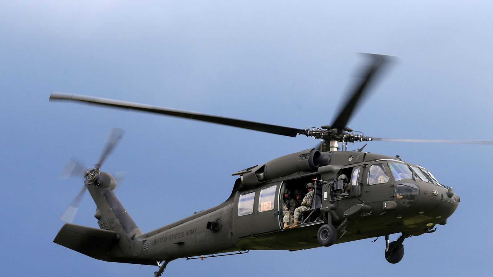Five missing after US Army helicopter crashes