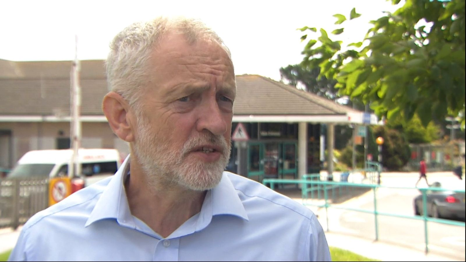 Jeremy Corbyn discusses what Labour would do for the NHS