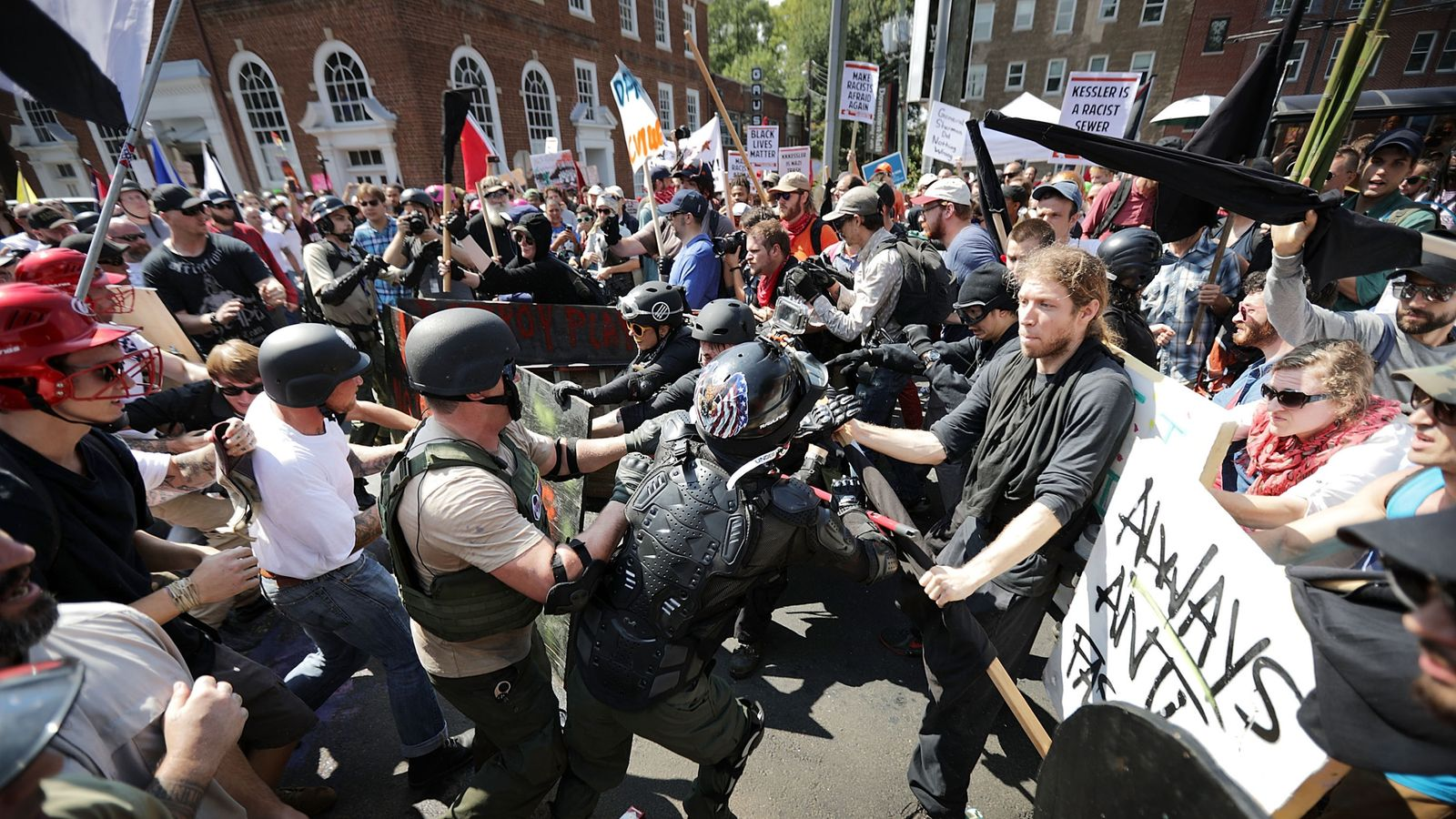Protests Erupt Across the Country Against Violence in Va. White Nationalist Rally