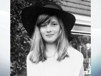 1970: A picture of Lady Diana Spencer from the family album, during a summer holiday at Itchenor, West Sussex.