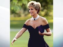 June 1994: Diana meets invited guests at the Serpentine gallery in Hyde Park