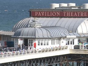 Cromer Pier said it had closed its Theatre Bar