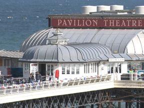 Cromer Pier said it had closed its Theatre Bar