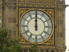 Big Ben bongs for the final time (probably) for four years