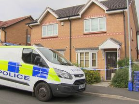 House cordoned off by police
