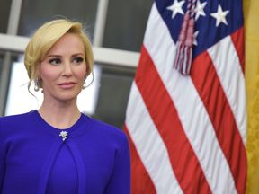 Louise Linton in the White House