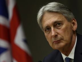 Philip Hammond was in Brazil before travelling to Argentina