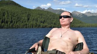 Putin relaxes in the remote Tuva region