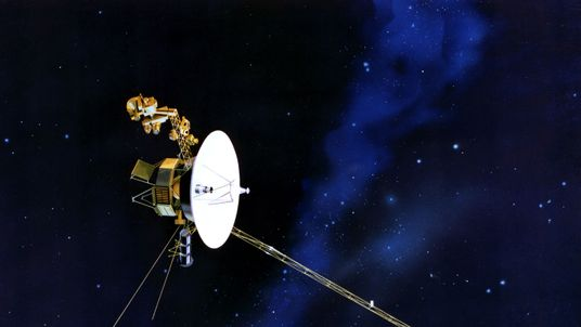 An artist's impression of the Voyager spacecraft Pic: NASA/JPL