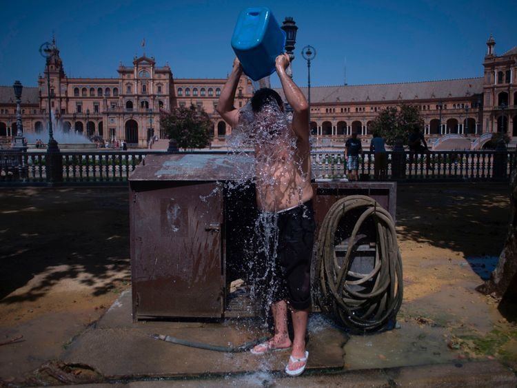 Heatwaves could annually kill over 150000 people in Europe by 2100