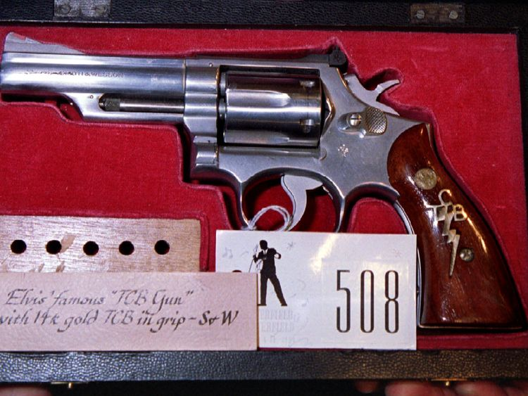 Elvis Presley's gun