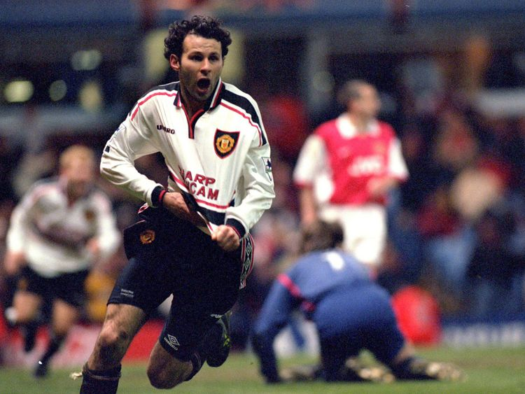 Giggs made a record 963 appearances over 24 seasons for Manchester United