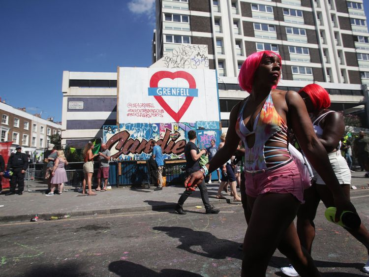 The Grenfell disaster has had a significant impact on this year's carnival