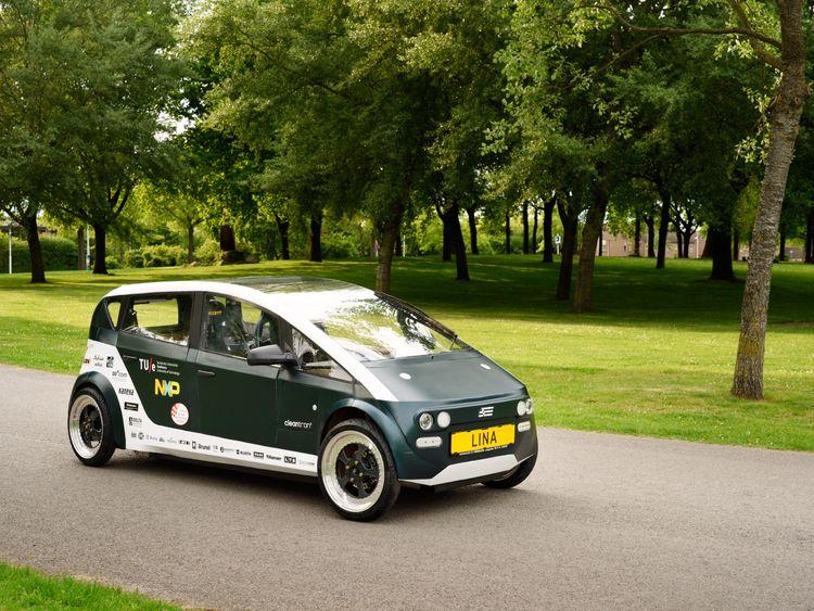 Lina won't be appearing on roads until it passes crash tests. Pic: TU/Ecomotive