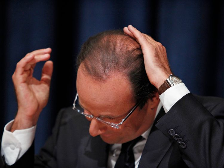 francois hollande - reuters
