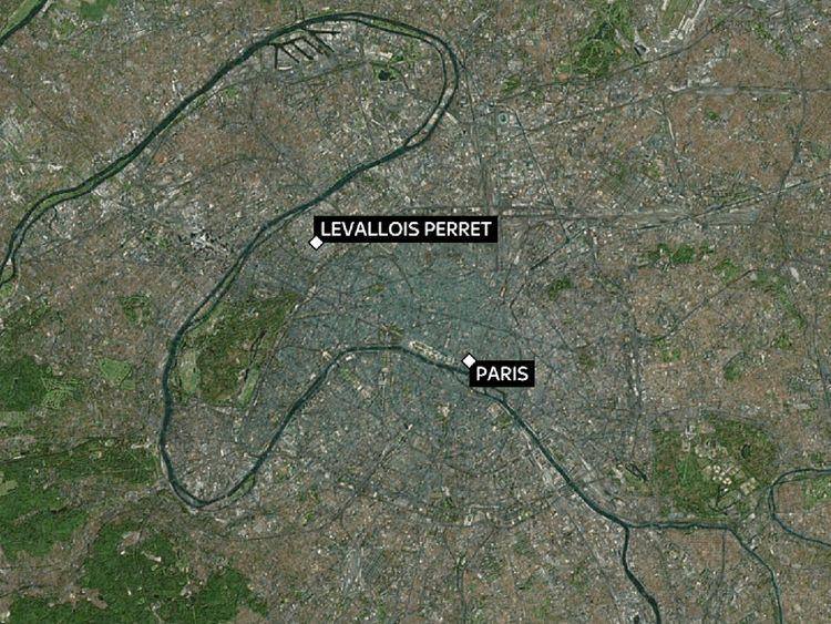 SOLDIERS HIT BY CAR IN PARIS