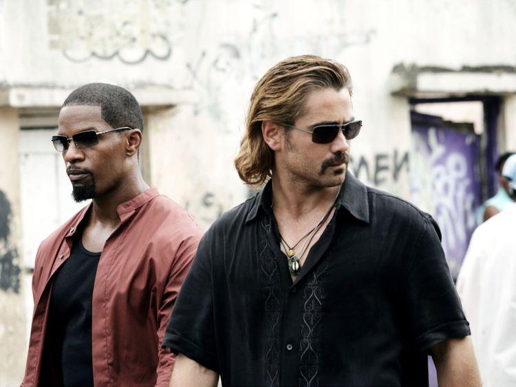 Jamie Foxx and Colin Farrel in Michael Bay's Miami Vice