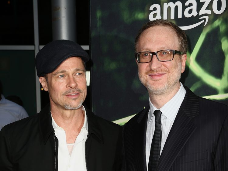 Brad Pitt and director James Gray