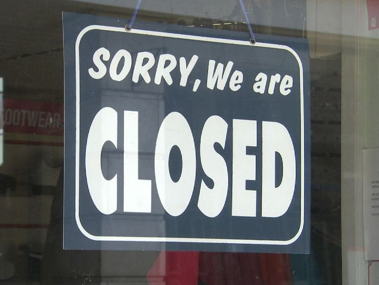 Some businesses in Cromer have closed their doors
