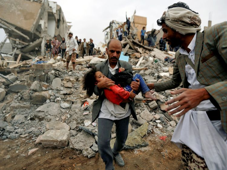 'Manmade catastrophe': Yemen conflict has killed 1100 children, says UN