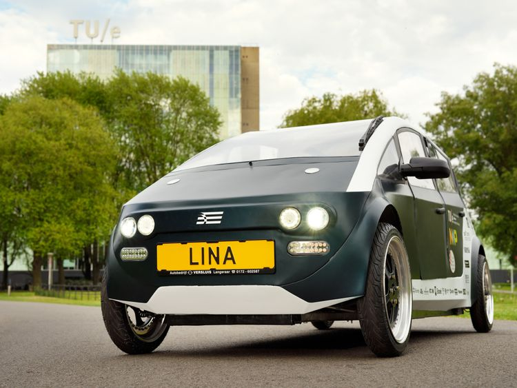 The car weighs only 310kg (684 pounds). Pic: TU/Ecomotive