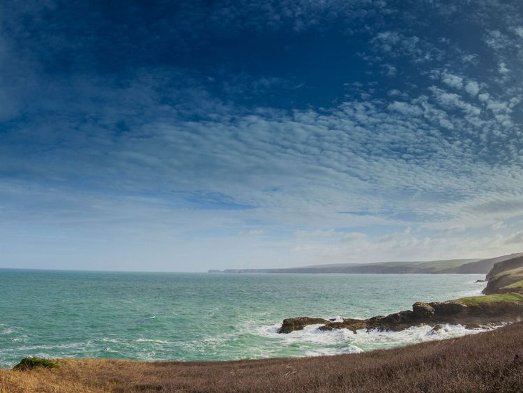 Diners at the Cornish fish restaurant are treated to this stunning view