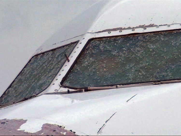Atlasglobal jet pilot makes blind landing in Istanbul after hailstones shatter windscreen