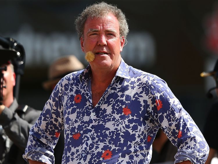 Clarkson was dropped as Top Gear presenter in 2015