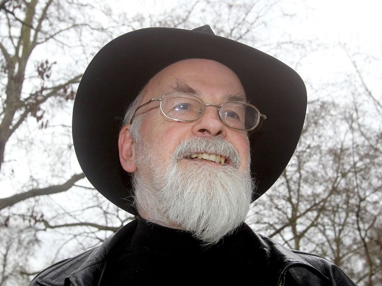 Sir Terry Pratchett had Alzheimer's before his death in 2015