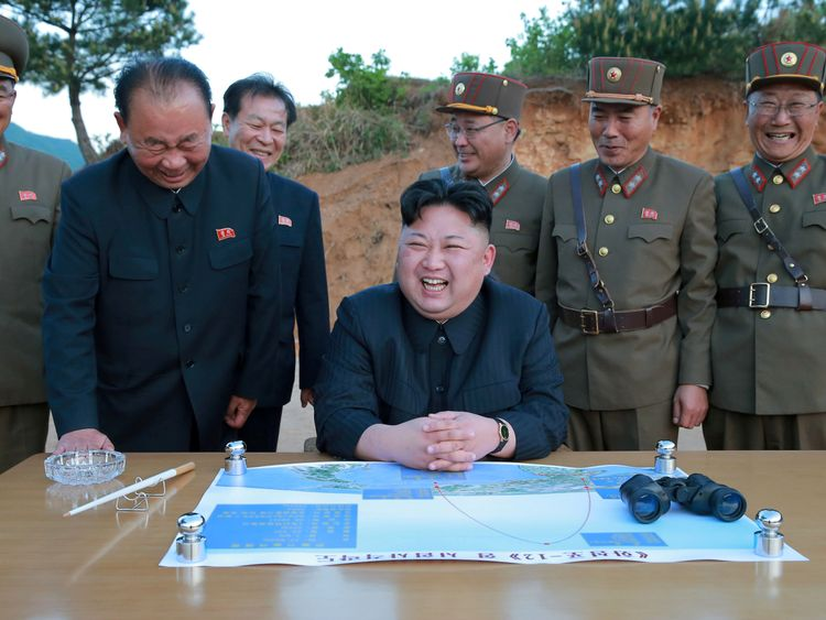 North Korea has test fired two intercontinental ballistic missiles in the last month