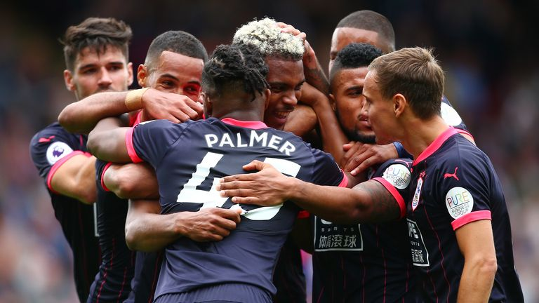 Crystal Palace 0-3 Huddersfield highlights