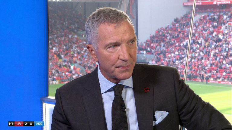 Graeme Souness assesses Arsenal's display against Liverpool- and it is not pretty