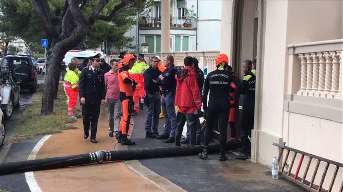 Floods in Livorno kill six, with two still missing