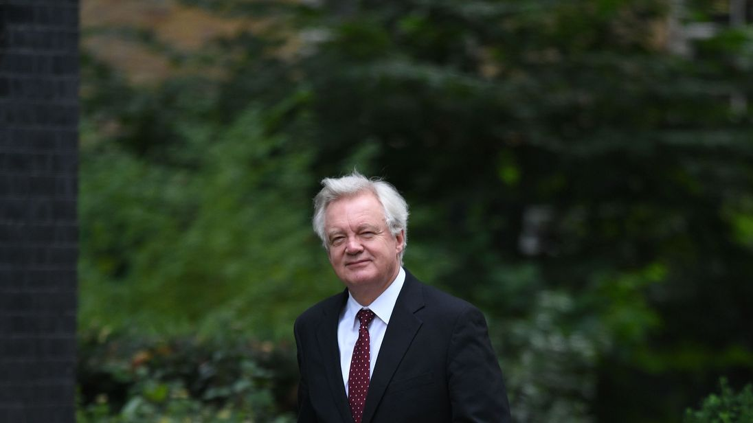 European Union is being 'silly' over Brexit cash, David Davis claims