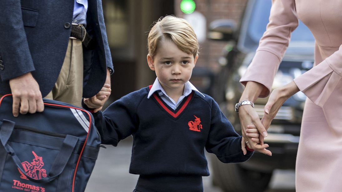 Prince William Is Low-Key About Security Breach at George's School