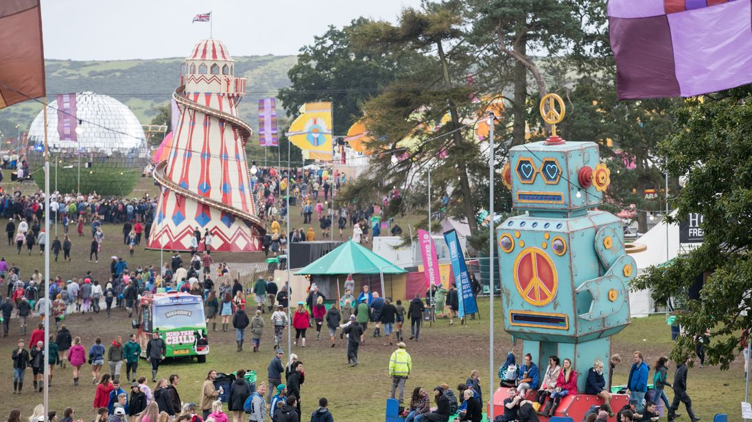 Woman killed at Bestival is daughter of Corrie star John Michie