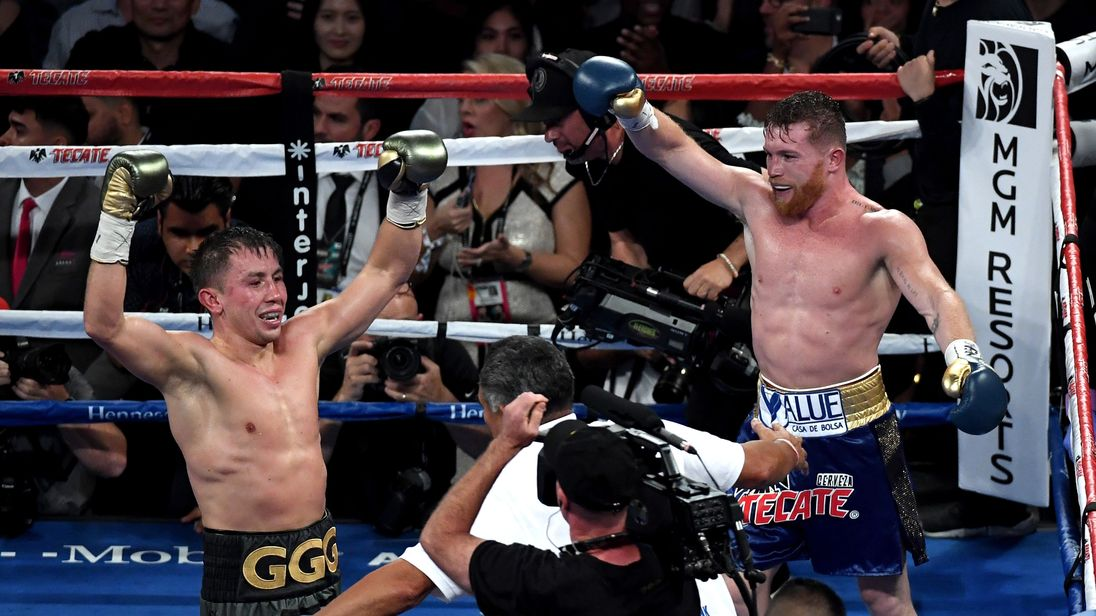 At the end of the fight, it seemed both boxers thought they had won
