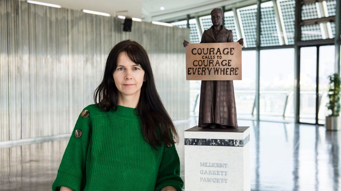 Gillian Wearing to create statue of suffragist Millicent Fawcett for Parliament Square