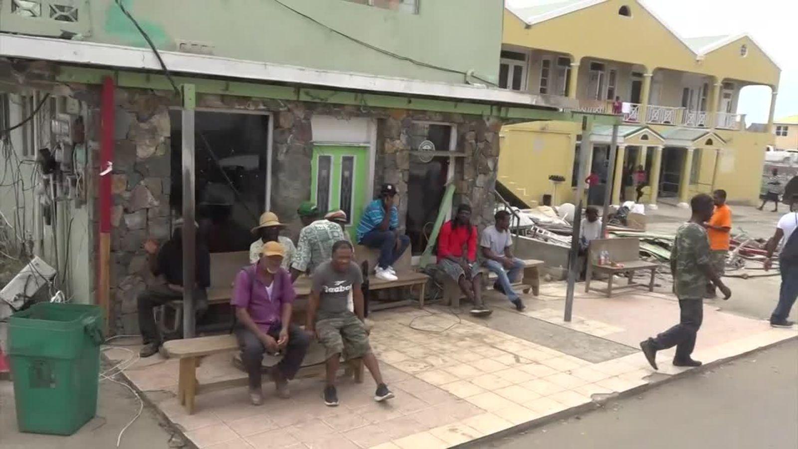 Hurricane Jose spares storm-ravaged French Caribbean islands
