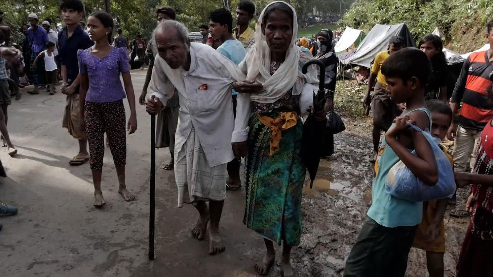 Myanmar Rohingyan refugees in Bangladesh