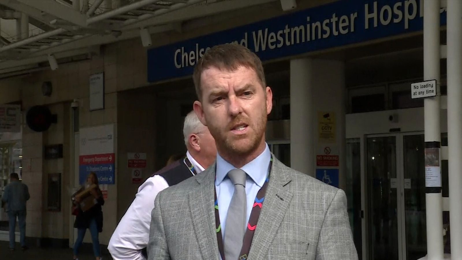 Chief Operating Officer at Chelsea & Westminster hospital gives update on situation following explosion at Parsons Green tube station