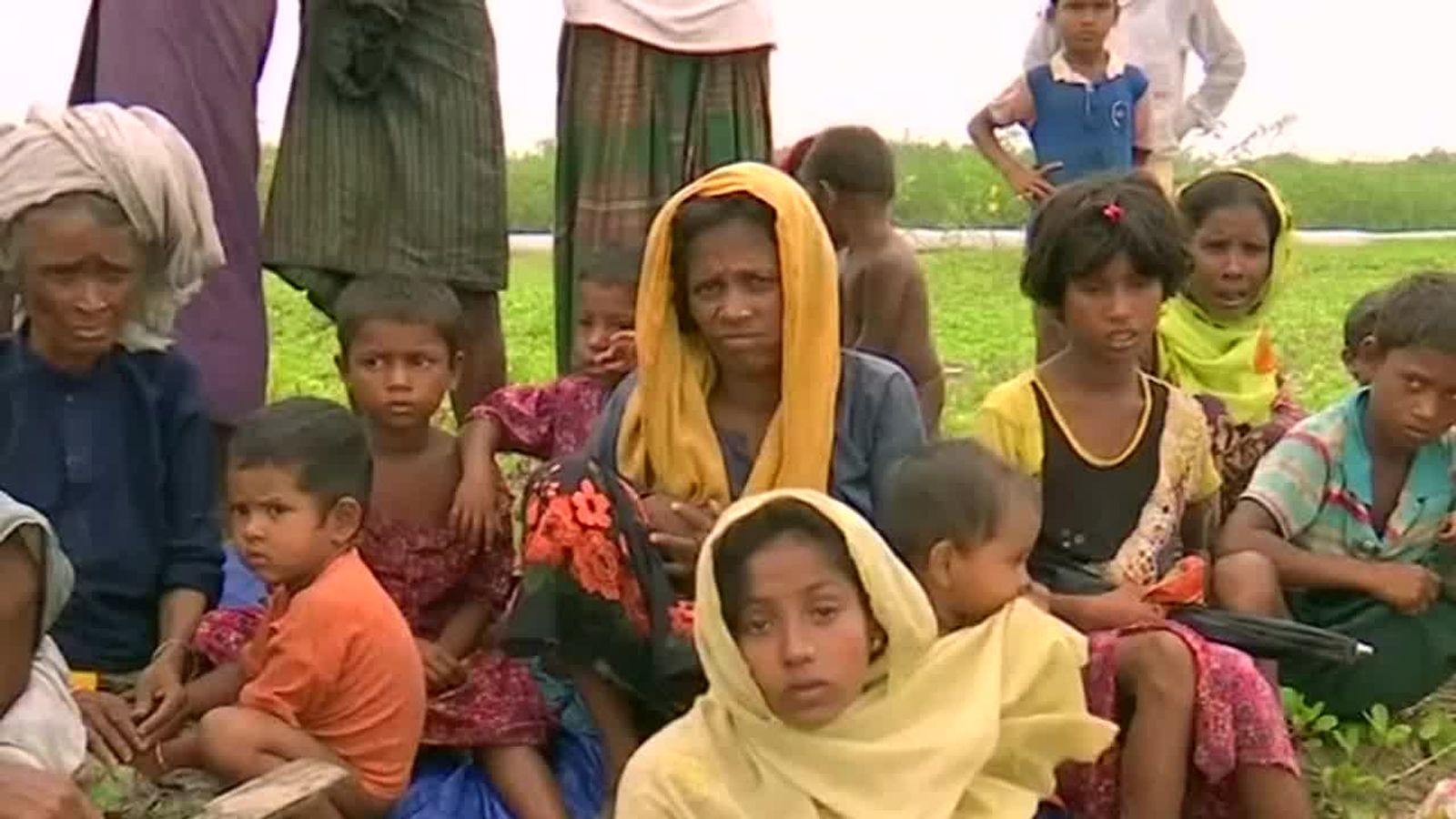 Rohingya fled to Bangladesh in two weeks