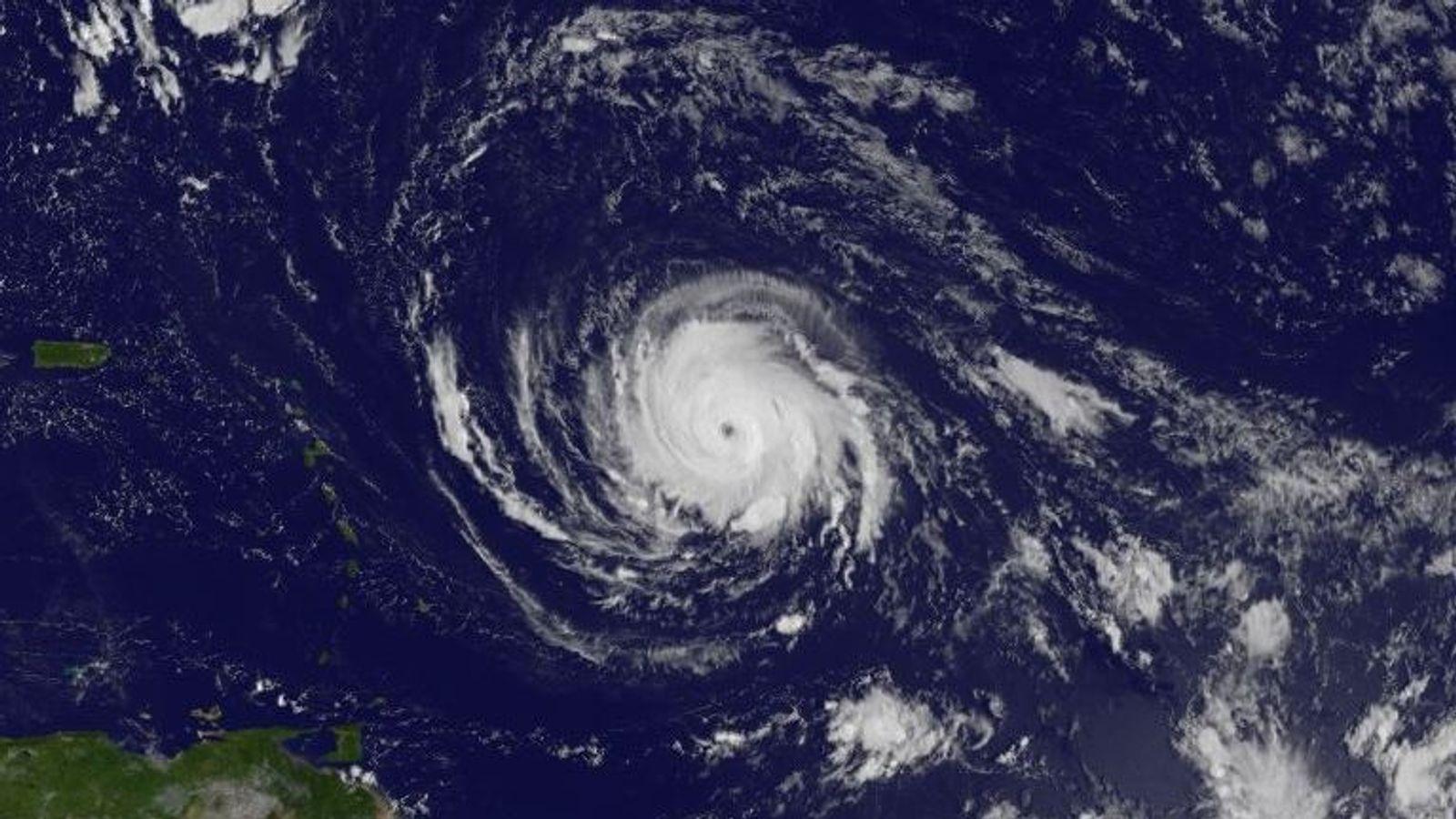 Irma: 'Strongest Atlantic hurricane ever' heads towards Caribbean